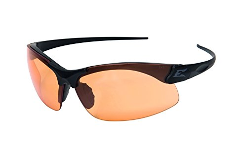 Edgeware Tactical Safety Eyewear, Sharp Edge, Matt Schwarz, Antikratzbeschichtet, Beschlagefreie Tiger`s Eye Gläser Schutzbrillen -