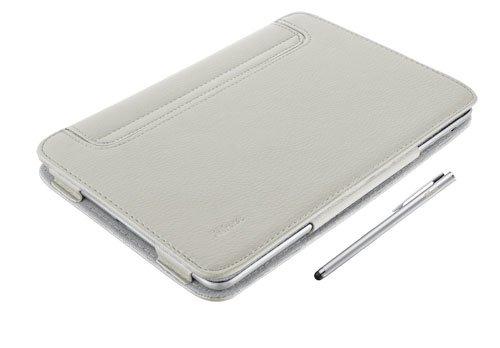 Trust eLiga Schutzhülle mit Stand und Stylus Pen für Apple iPad Mini sand