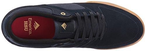 Le skate hommes Chaussures Emerica Hsu Low Vulc Chaussures de Skate NAVY/GUM