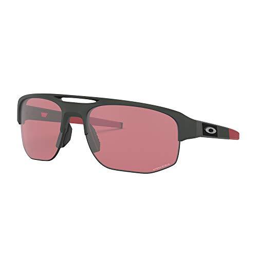 Ray-Ban Herren 0OO9424 Sonnenbrille, Mehrfarbig (Matte Carbon), 70