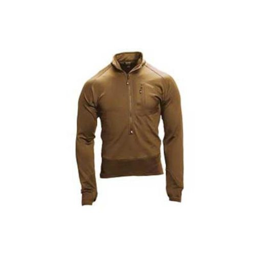 Blackhawk Herren 3/4 ZIP Soft Fleece Pullover Coyote Brown