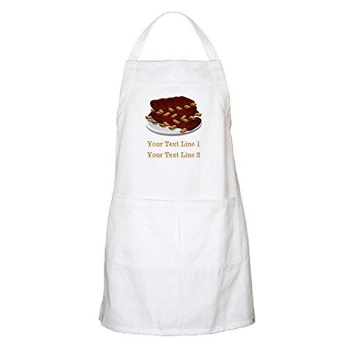 whiangfsoo personalizzato testo costole cottura Grembiule per barbecue - Black Cat Bbq Grembiule