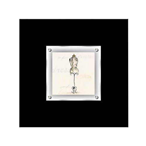 Kendalls Protege Homeware Boudoir Mannequin gerahmt Art Wand -