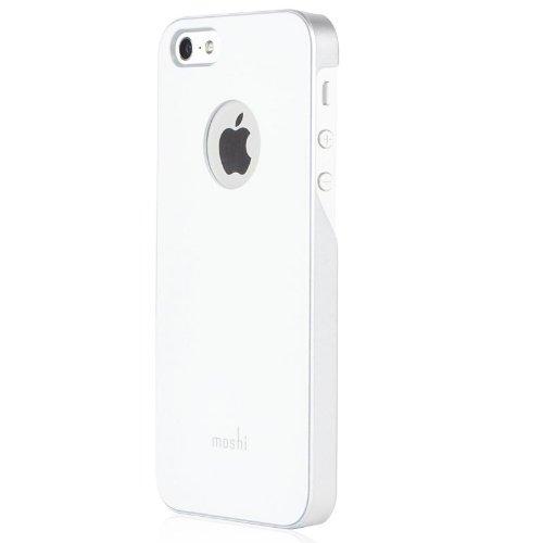 Moshi iGlaze Hard Shell per iPhone 5, Rosso Bianco
