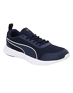 Puma Men's Sear Idp Peacoat White Running Shoes-6 UK (39 EU) (7 US) (37309401_6)