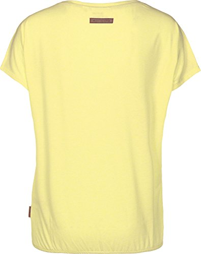 Naketano Schnella Baustella II W T-shirt giallo mélange