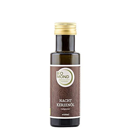 BIO Nachtkerzenöl von BIOMOND, 100 ml/hochwertiges Gourmetöl/kaltgepresst/Naturkosmetik - Nachtkerzen Samen Öl