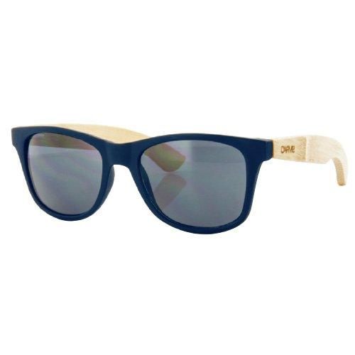 Carve Bondi Sonnenbrille Navy/Bamboo