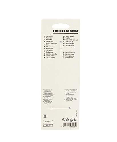 FACKELMANN Nussknacker, hochwertiger Nuss-Knacker, robuster Zinkdruckguss mit sehr guter Kraftübertragung (Farbe: Silber), Menge: 1 Stück