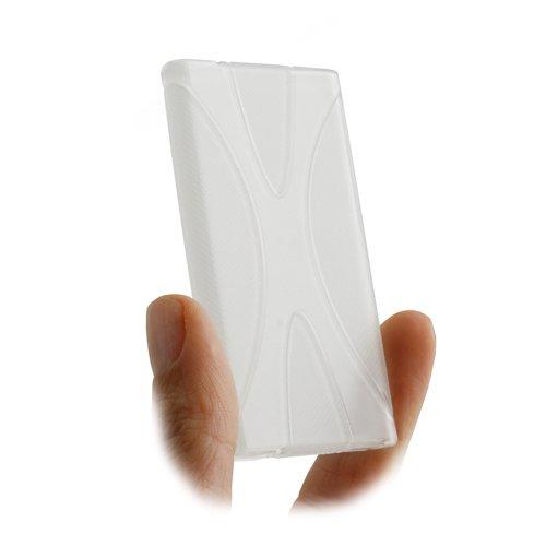 System-S Silikonhülle Skin Tasche Case Hülle Cover Schutzhülle in Transparent für Apple iPod Nano 7G Apple Ipod Nano Skin