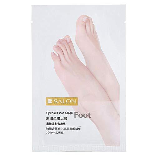 Fußmaske - Fußpeel off Skin Renewal Mask Entfernen Sie abgestorbene Hautnagelhaut Feuchtigkeitsspendende zarte Haut 40g