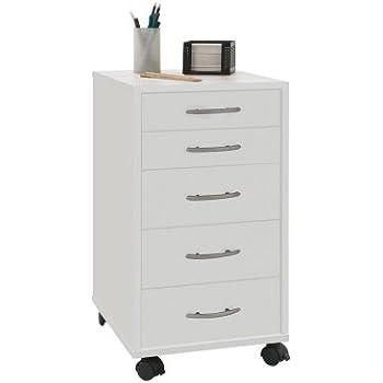 Rollcontainer weiß ikea  IKEA HELMER Schubladenelement auf Rollen; in weiß: Amazon.de ...