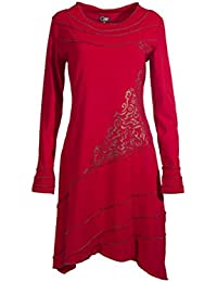 Coline - Robe manches longues style tribal
