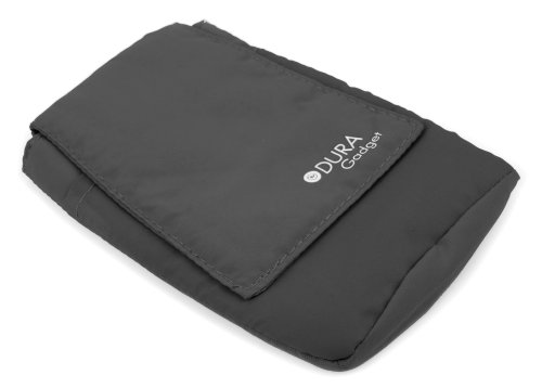 DURAGADGET Schwarze Outdoor-Hülle mit Gürtelschlaufe für Emporia Comfort | Glam | Pure | Select | Euphoria | ECO | TELME C151 - T210 - X200 - X210 Smartphones