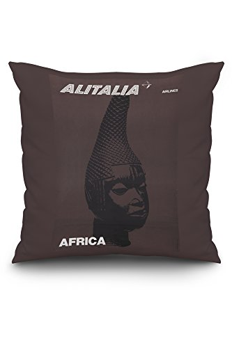 italy-alitalia-africa-c-1960-vintage-advertisement-20x20-spun-polyester-pillow-case-custom-border