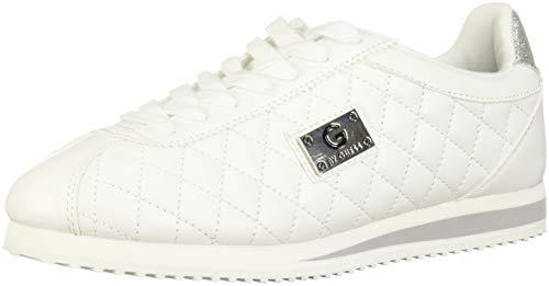 Guess G by Frauen Fashion Sneaker Weiss Groesse 6.5 US /37.5 EU