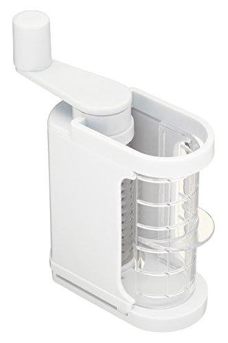 Kitchen Craft KCPARM - Rallador de Queso de plástico, Color Blanco