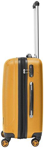 Packenger Velvet Koffer, Trolley, Hartschale 3er-Set in Orange, Größe M, L und XL - 5