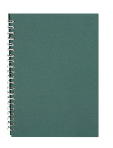 Ein Modeschmuck Von Einer Art (Pink Pig grun A4 Skizzenbuch 150gsm säurefrei weißes Papier 70 Seiten (35)