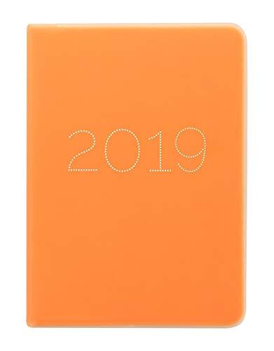 Letts Gummy A6 2019 Orange 1 Woche auf 2 Seiten