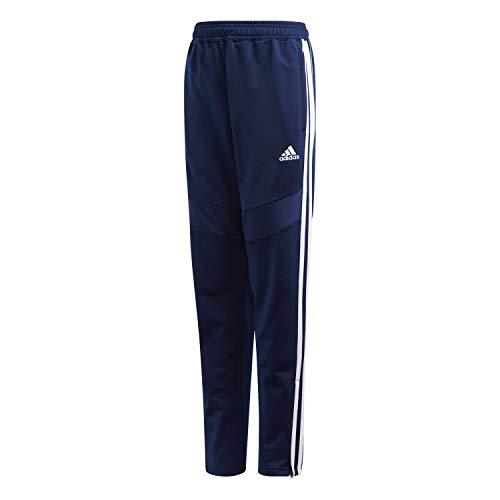 adidas DT5183 Pantalones, Unisex niños, Azul (Dark Blue/White), XL