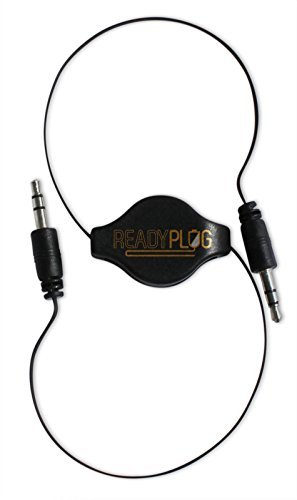 2ft ReadyPlug Retractable 3.5mm Audio Cable for Logitech X300 Mobile Wireless Stereo Speaker Line IN/Aux Headphone M/M (2.5 Feet)  available at amazon for Rs.1689