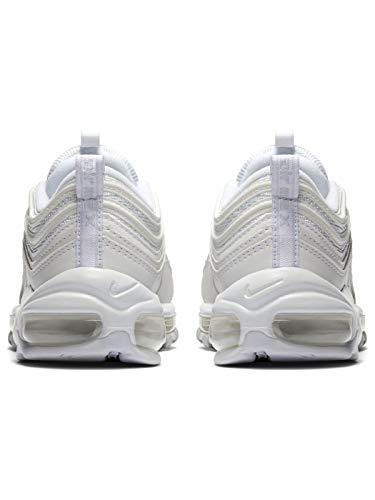 Nike W Air MAX 97, Zapatillas de Atletismo para Mujer, Blanco (White/White/Pure Platinum 100), 38.5 EU