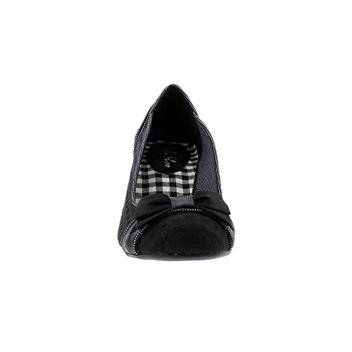 Ruby Shoo Damen Pumps Hayley Polka Dots Schleife Schuhe Geschlossen Schwarz / Weiß