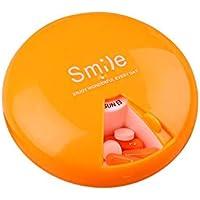 favourall 7 Pillendose Pillenbox Tablettendose Tablettenbox Medikamentendosierer Wochendosierer für 7 Tage Reise... preisvergleich bei billige-tabletten.eu