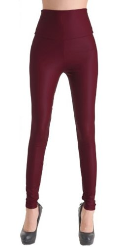 MrHappyDeal-Leggings-in-Leder-Optik-in-groer-Farbauswahl