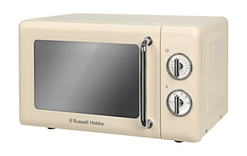 Russell Hobbs RHRETMM705C RETRO creme micro-ondes Manuel Compact (Creme)