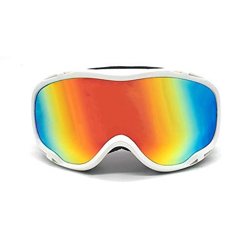 Sonnenbrille Polarisiert Skibrille Doppelte Anti Fog Skating Brille Bergsteigerbrille Männer Und Frauen Modelle Brille Ski Brille White Damen Herren
