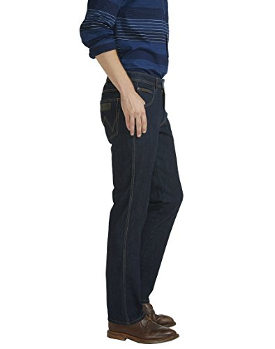Wrangler Arizona Stretch Rinsewash, Jeans Uomo Nero (Black)