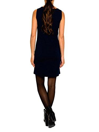 SMASH Oliana Vestido Estilo Pichi-A1661328, Robe Femme Bleu Marine