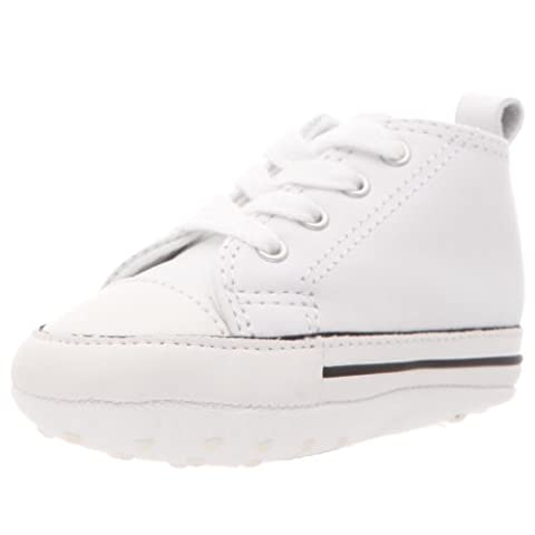 CONVERSE - FIRST STAR HI 81229 - white, Size:2