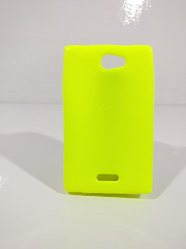 iCandy™ Colorfull Thin Soft TPU Back Cover For Nokia Asha 502 - Parrot  available at amazon for Rs.99