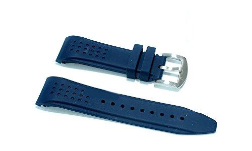 Cinturino in gomma blu per orologio ansa...