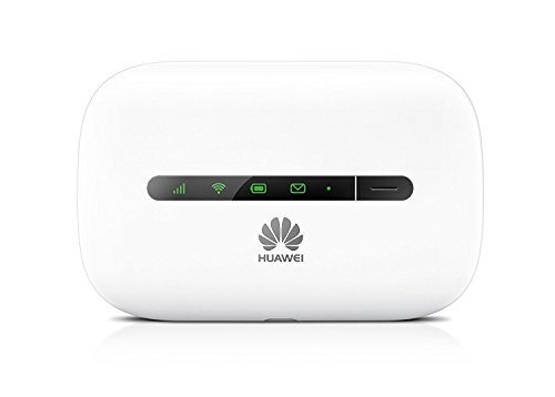 Huawei E5330 White 3G, Gaming/ Travel Mobile Wi-Fi, Unlocked to all Networks with No Configuration Required- Genuine UK Warranty stock - (non network logo) (Refurbished)