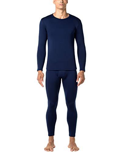 LAPASA Uomo Set Termico Invernale Ad Alta Densità Completo Termico T Shirt Maniche Lunghe & Pantaloni Invernali Confezione Regalo Heavyweight M24