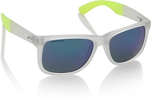 Fastrack Gradient Square Men's Sunglasses - (P366GR2|55|Black Color) image