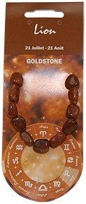Natural & Books : Bracelet Nuggets GoldStone (pierre du soleil ) - Vitalité