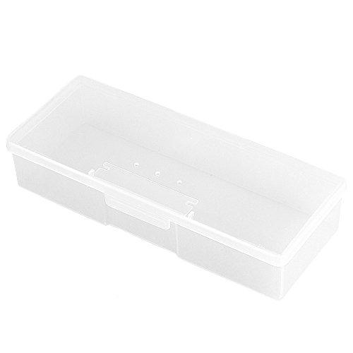 FACILLA® Haute Capacité Boîte de rangement bijoux Etuis pour Make Up ongles Blanc
