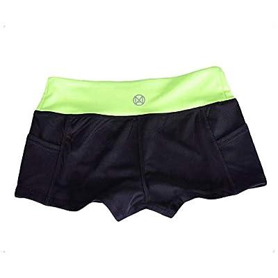 Cherishly Yoga Shorts L code Mujeres Secado rápido Deporte Transpirable Pantalones cortos para correr Patinar Ciclismo Fitness Shorts ajustados convenient