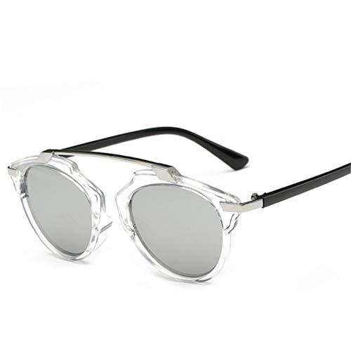 dfjd Mode Flut Mann Brille Großhandel Persönlichkeit Farbfilm Sonnenbrille Dame Sonnenbrille
