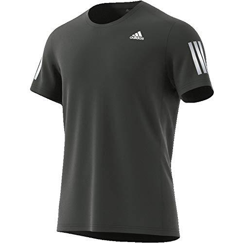 adidas Herren Own The Run T-Shirt, Legend Earth, L