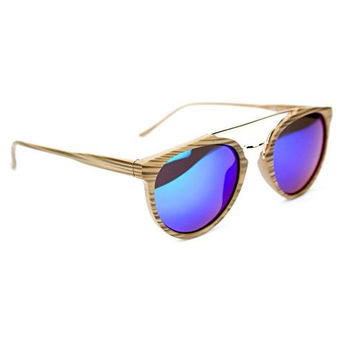 Junsi Triangular Wood Grain Foldable Sunglasses Lunettes de soleil Hard Case Glasses Eyewear Lunettes Protect Storage Box Boite de rangement ar54x1Cz
