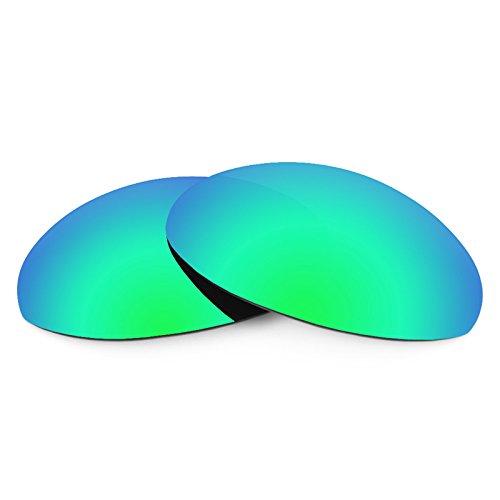 Verres de rechange pour Oakley Romeo 1 — Plusieurs options Vert Emeraude MirrorShield® - Polarisés