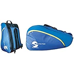 Softee Equipment 0014015 Paletero de Tenis, Azul, S