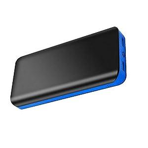 FKANT Powerbank 25000mAh Batteria Portatile Carica Veloce Caricabatterie Portatile Power Bank 2 Porte USB con Torcia a… 1 spesavip