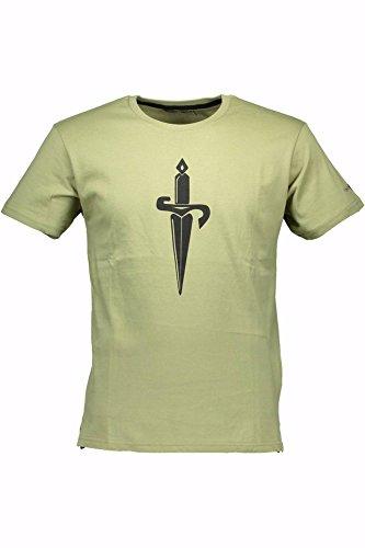 cesare-paciotti-cp06ts-t-shirt-maniche-corte-hombre-verde-military-green-xl